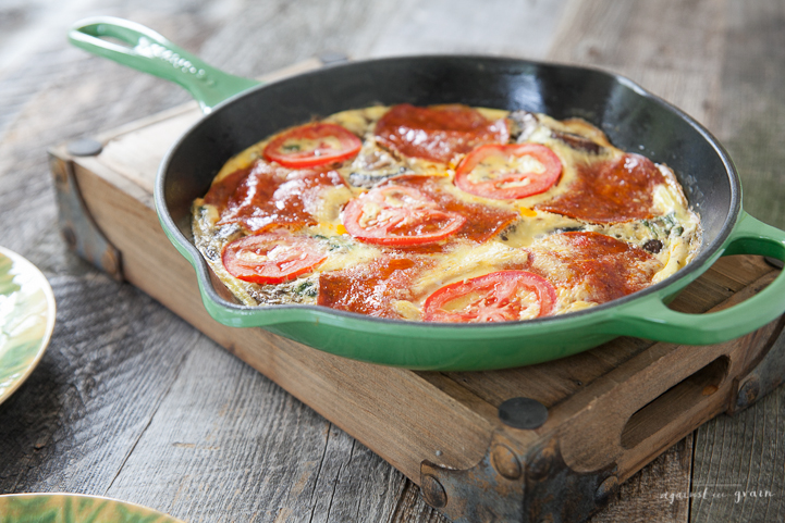 27 - Against All Grain - Pizza Frittata