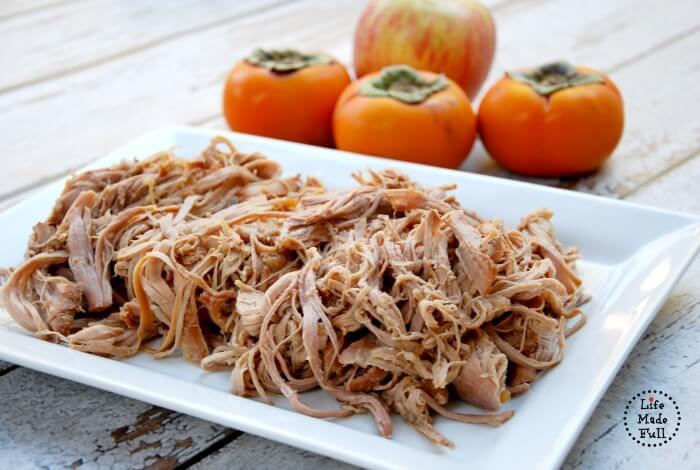 28 - Life Made Full - Persimmon Apple Pork Tenderloin