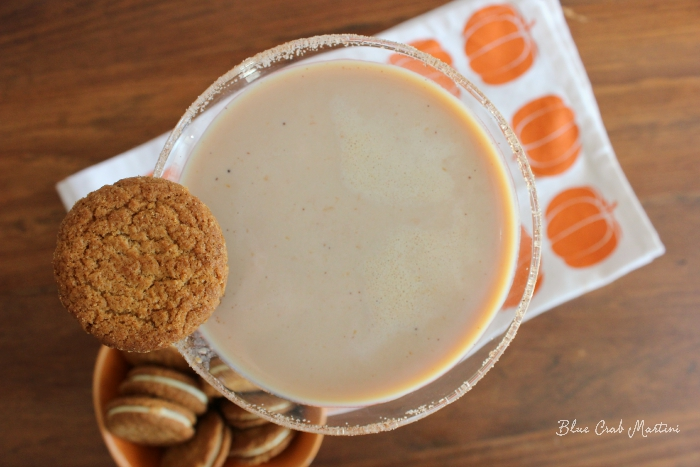 Pumpkin Spice Martini | Blue Crab Martini