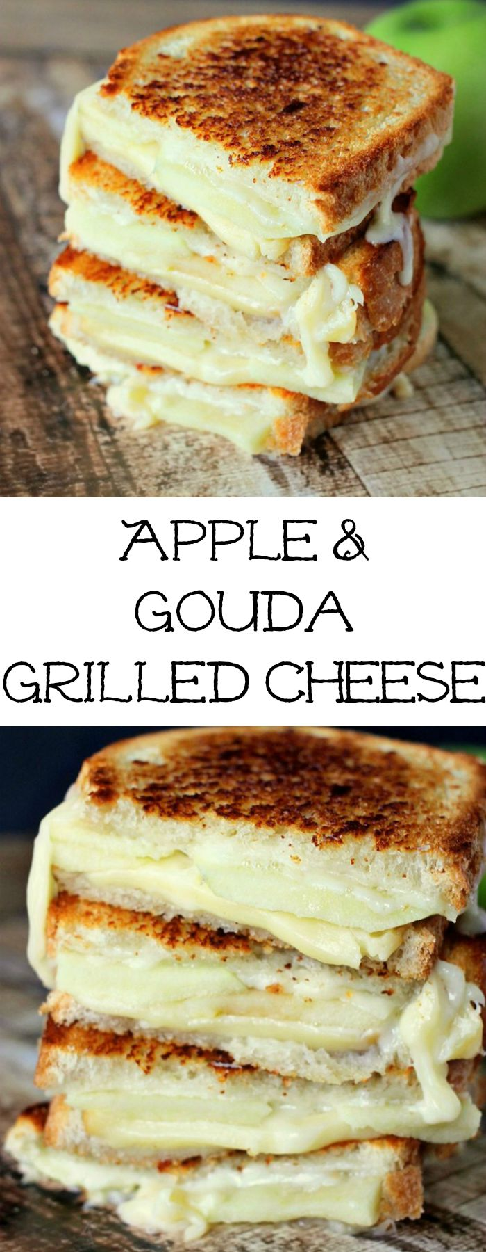 "Apple & Gouda Grilled Cheese is perfect for fall and those granny smith apples! Savory and delicious!"" border=""0"" alt=""Apple & Gouda Grilled Cheese is perfect for fall and those granny smith apples! Savory and delicious!"