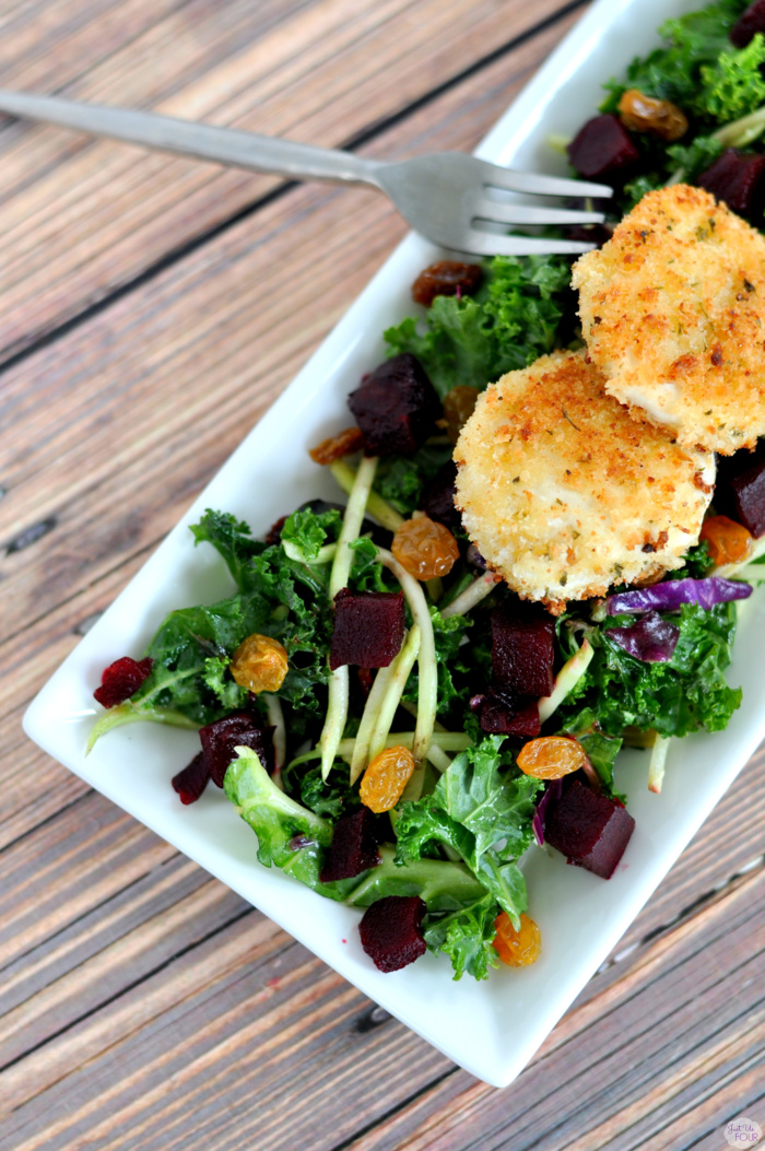 Easy Fried Goat Cheese