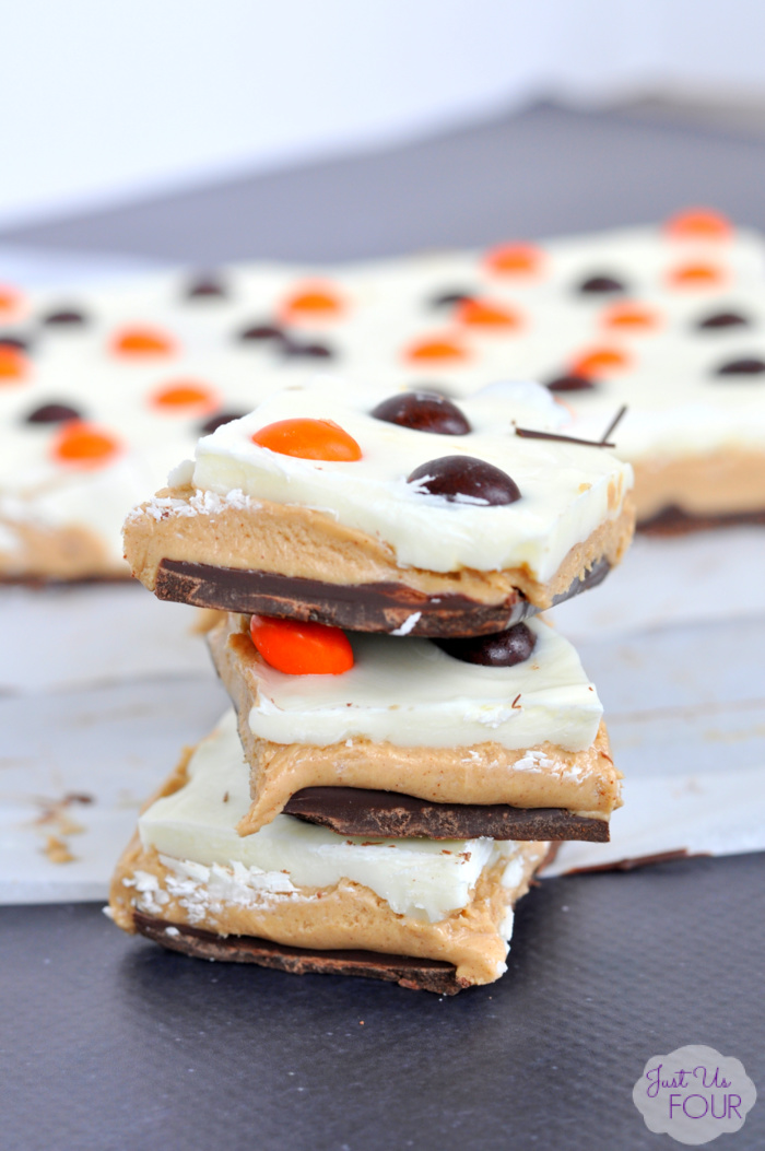 Halloween Peanut Butter Chocolate Candy