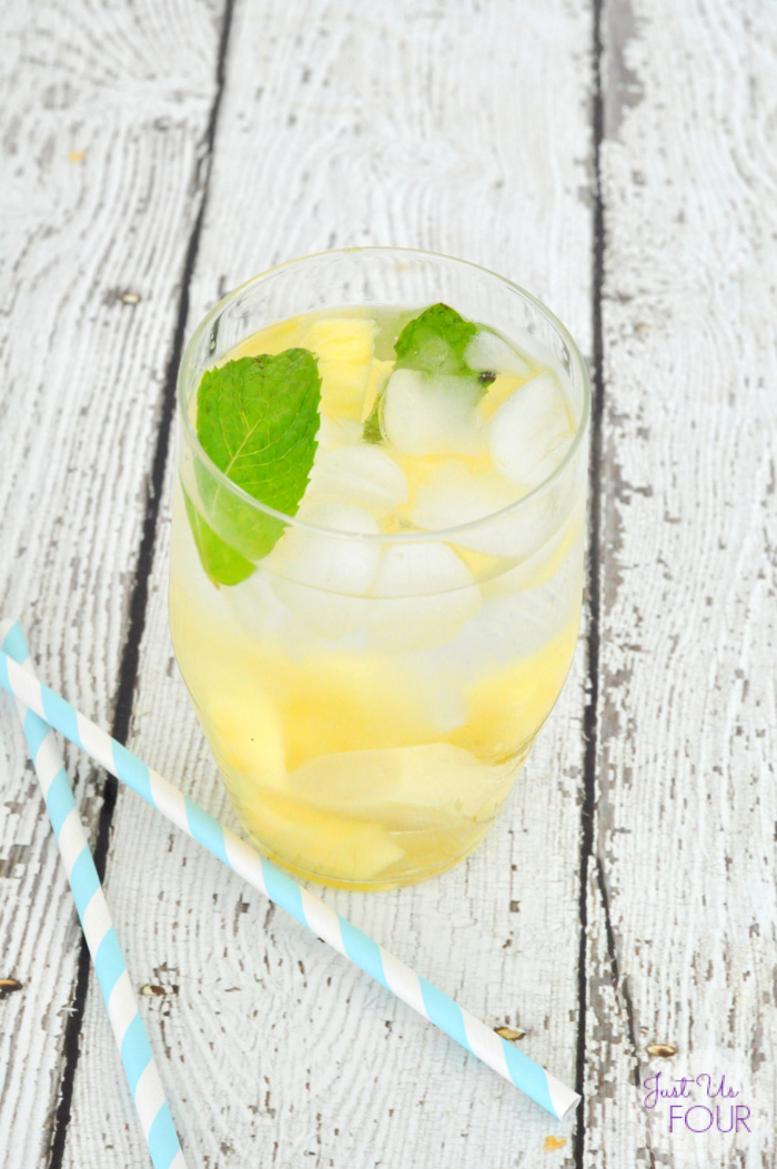 Pineapple Ginger Spa Water