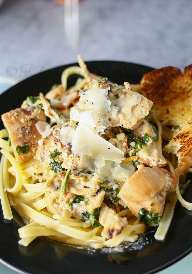 Friday - Chipotle Spinach Fettucine