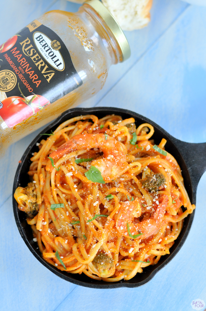 One Pot Shrimp Marinara