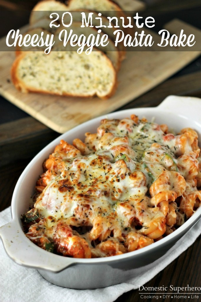 Sunday - 20 Minute Cheesy Pasta Bake