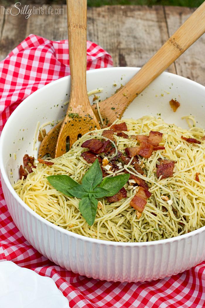 Tuesday - Bacon Pesto Pasta