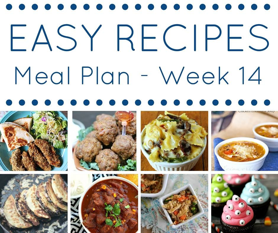 This meal plan is full of easy recipes that make getting dinner done so fast and delicious.