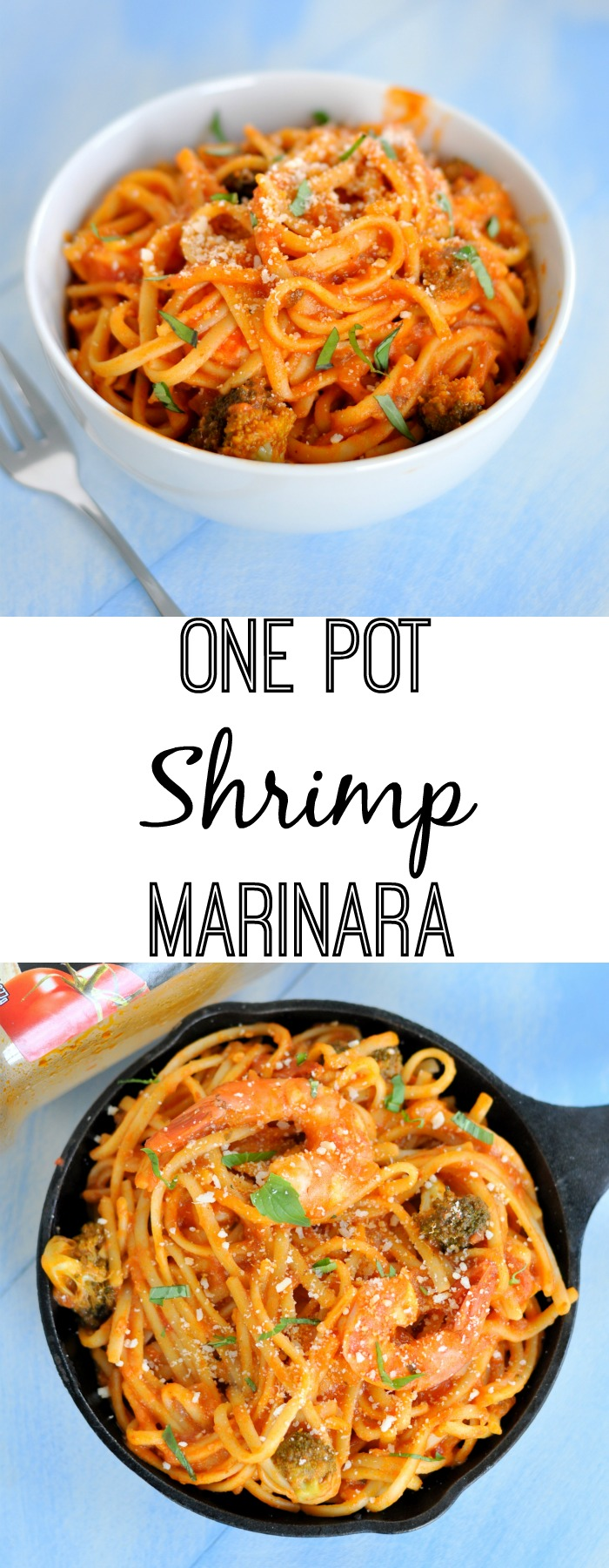 This one pot shrimp marinara will turn weeknight dinners into something worth sitting at the table a little longer for.