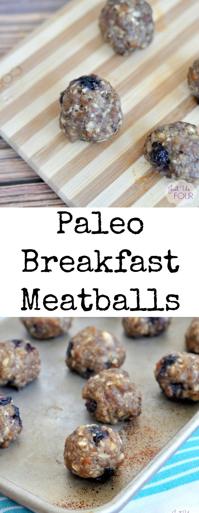 Paleo breakfast meatballs are the perfect breakfast option when you are at home or on the go.