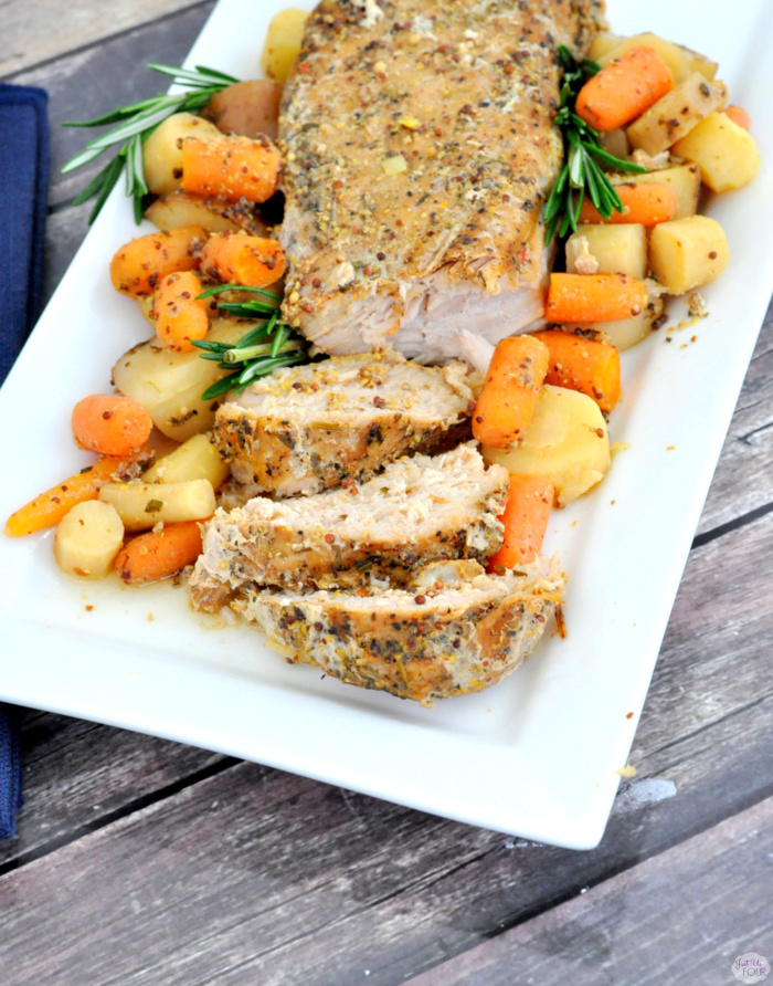 Roasted Pork with Root Vegetables