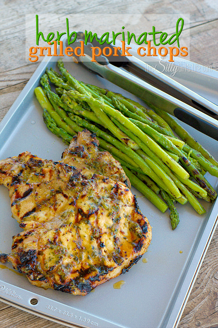 This Silly Girl's Kitchen - Herb Marinated Pork Chops