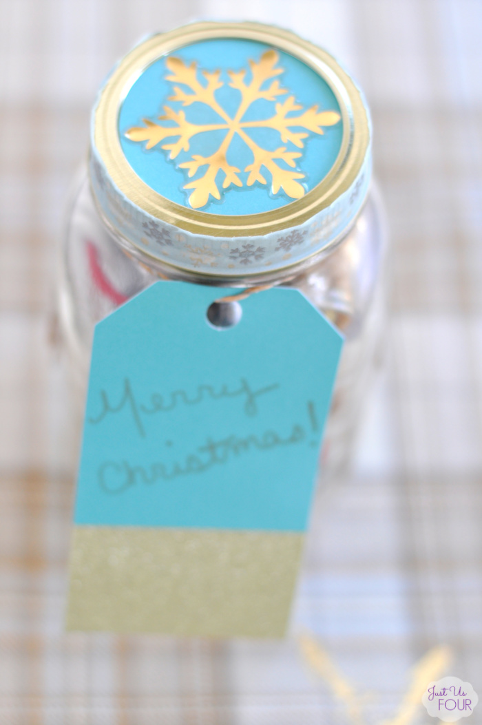 Food Lovers Mason Jar Gift Idea