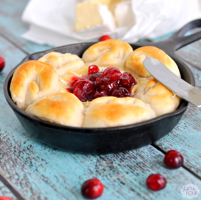 Cranberry Brie Skillet