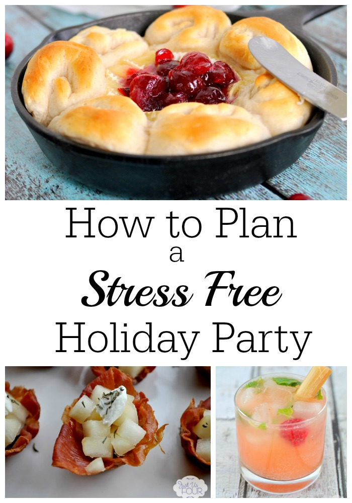 Great tips on how to plan a stress free holiday party...or any party!