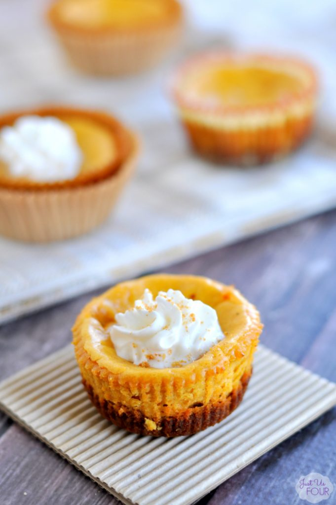 Thanksgiving Recipes Pumpkin Cheesecake Bites My