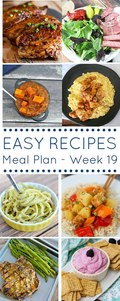 Skip the stress of deciding what is for dinner each night and use our easy dinner recipes meal plan instead!