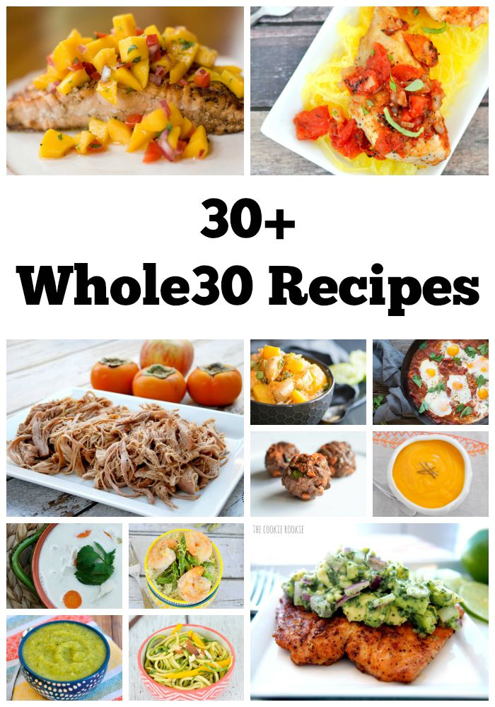 30 Whole30 Recipes
