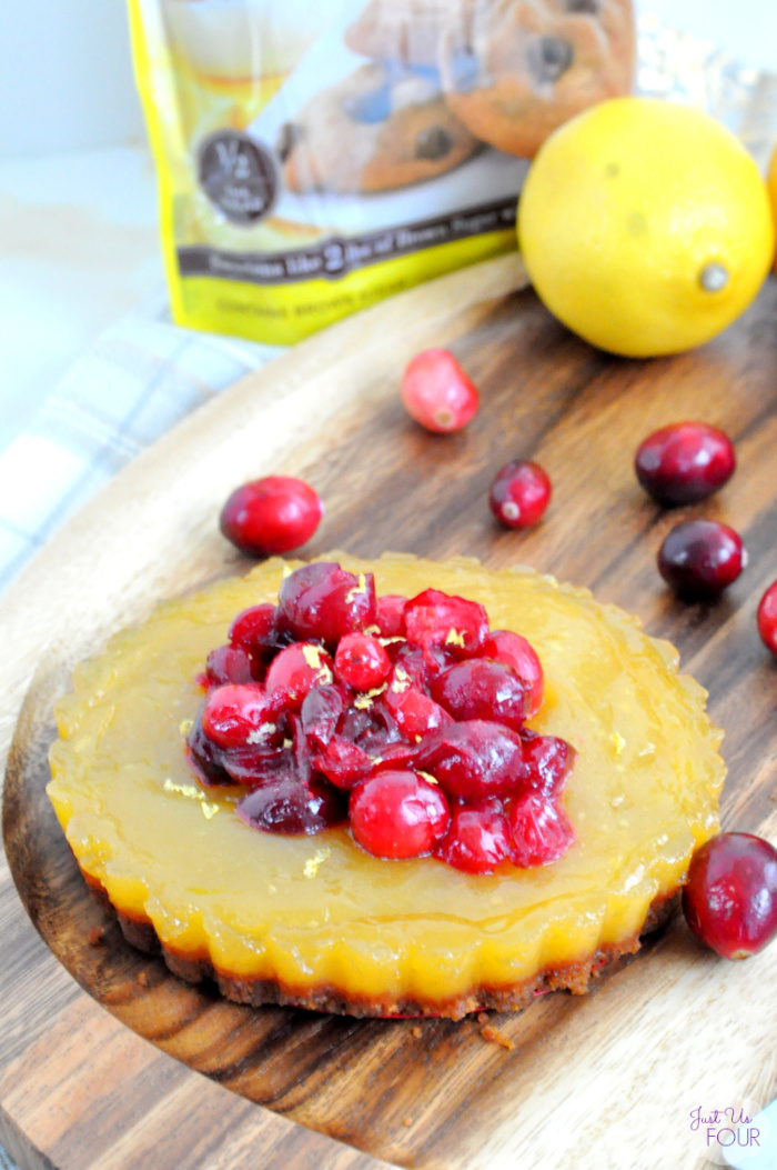 Cranberry Lemon Tarts Holiday Recipe