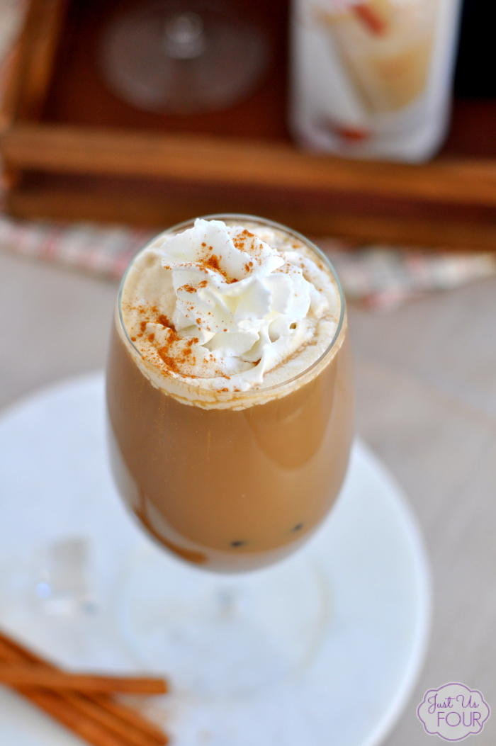 Horchata Iced Coffee Cocktail