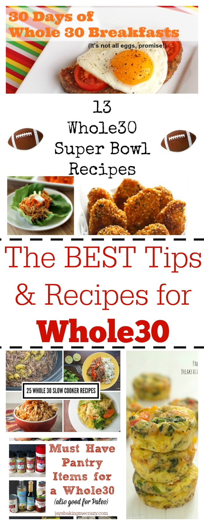 Tips, Tricks and Recipes for an easy Whole30 Month