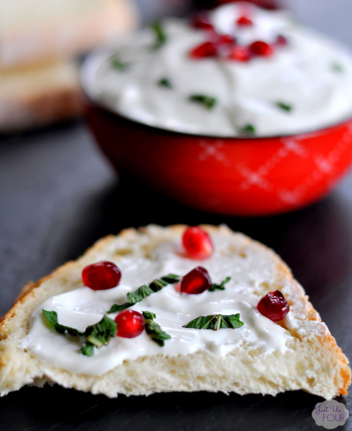 Easy Whipped Ricotta Spread