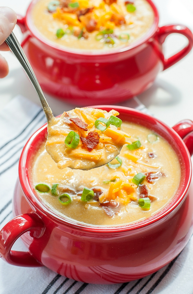 04 - Peas and Crayons - Slow Cooker Sweet Potato and Cauliflower Soup