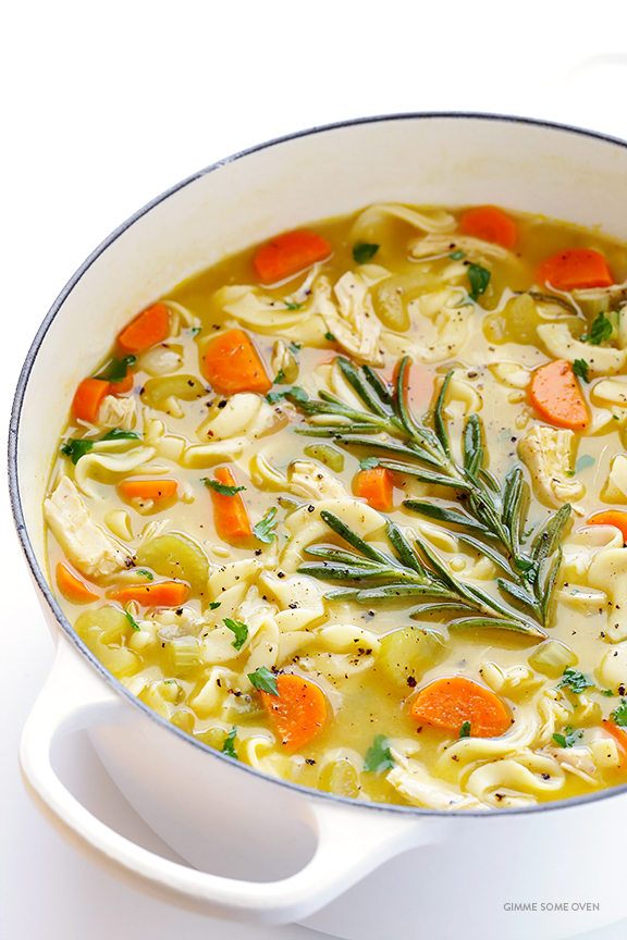 09 - Gimme Some Oven - Rosemary Chicken Noodle Soup