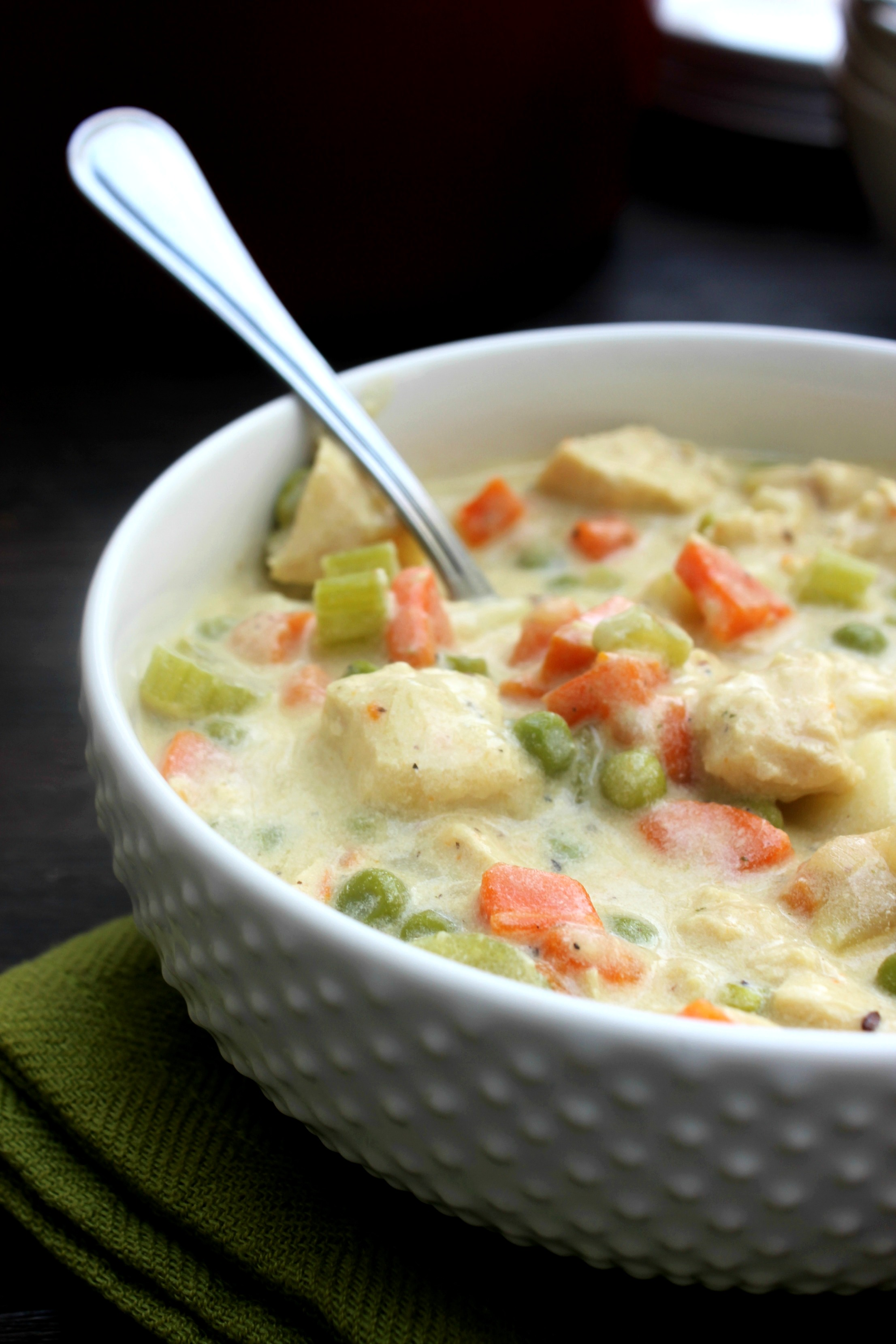12 - A Dash of Sanity - Chicken Pot Pie Soup