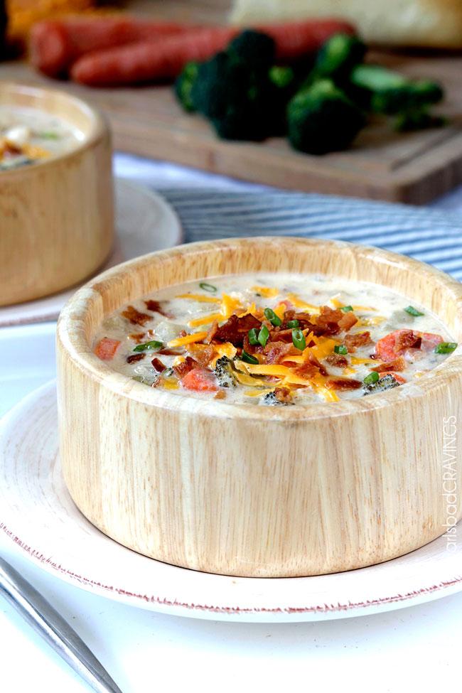 20 - Carlsbad Cravings - Cheddar Bacon Ranch Potato Chowder