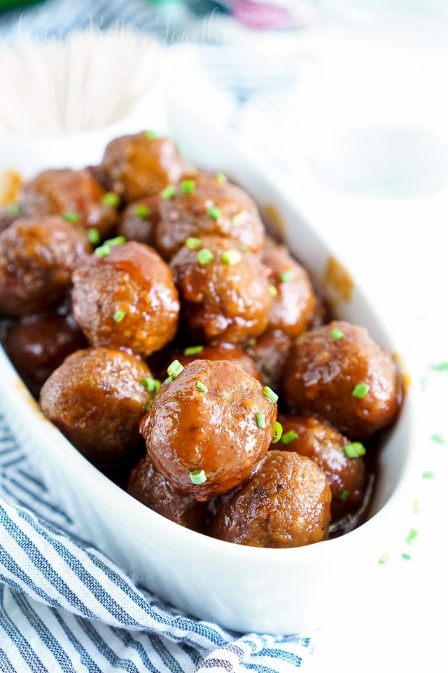 26 - Sugar and Soul - Maple Chili Meatballs