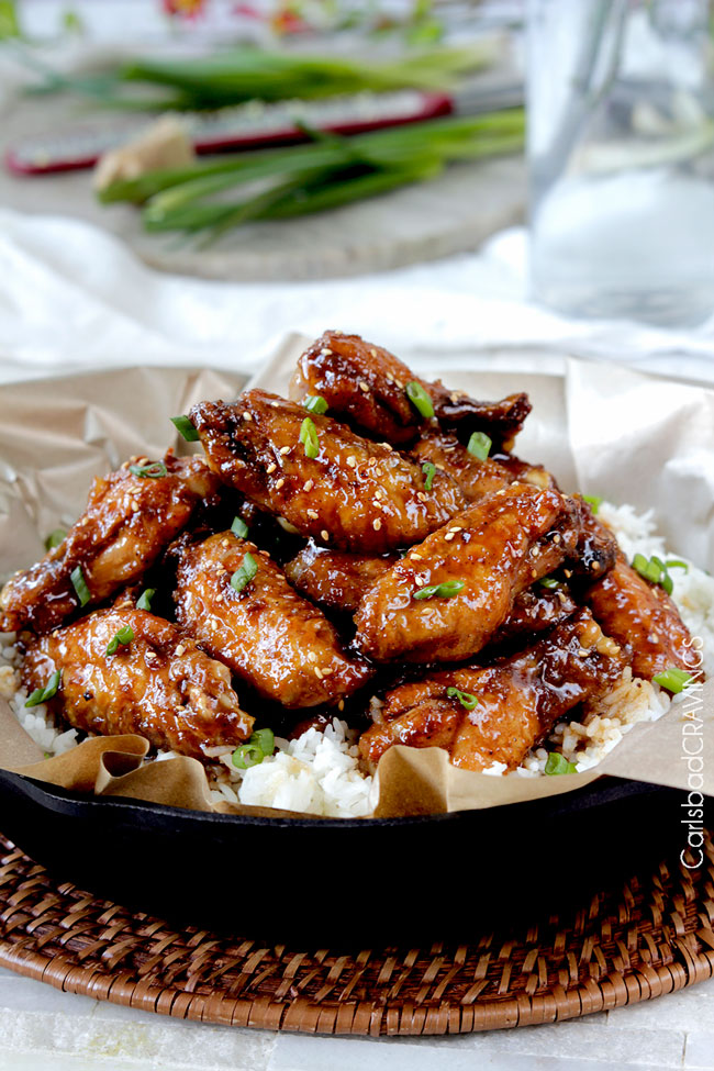 29 - Carlsbad Cravings - Baked General Tsos Chicken Wings