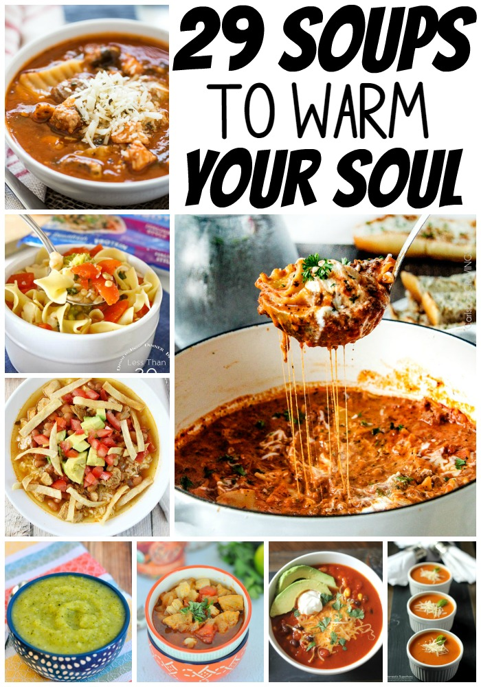 When it is cold outside, heat up with one of these 29 insanely delicious soups that will warm up your soul.