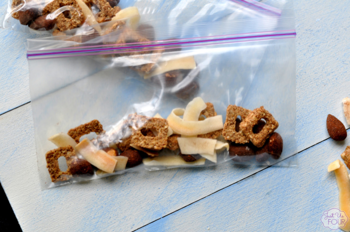 Chocolate Coconut Snack Mix