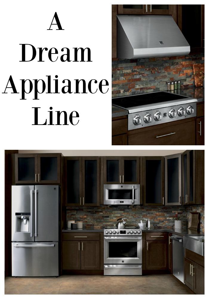 A dream kitchen appliance line up my suburban kitchen for Dream kitchen appliances