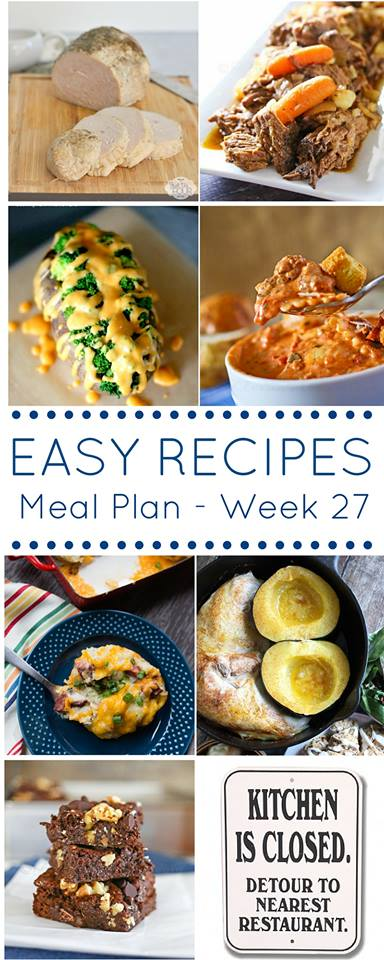 These easy recipes are perfect for making your weekly meal plan a breeze to follow.