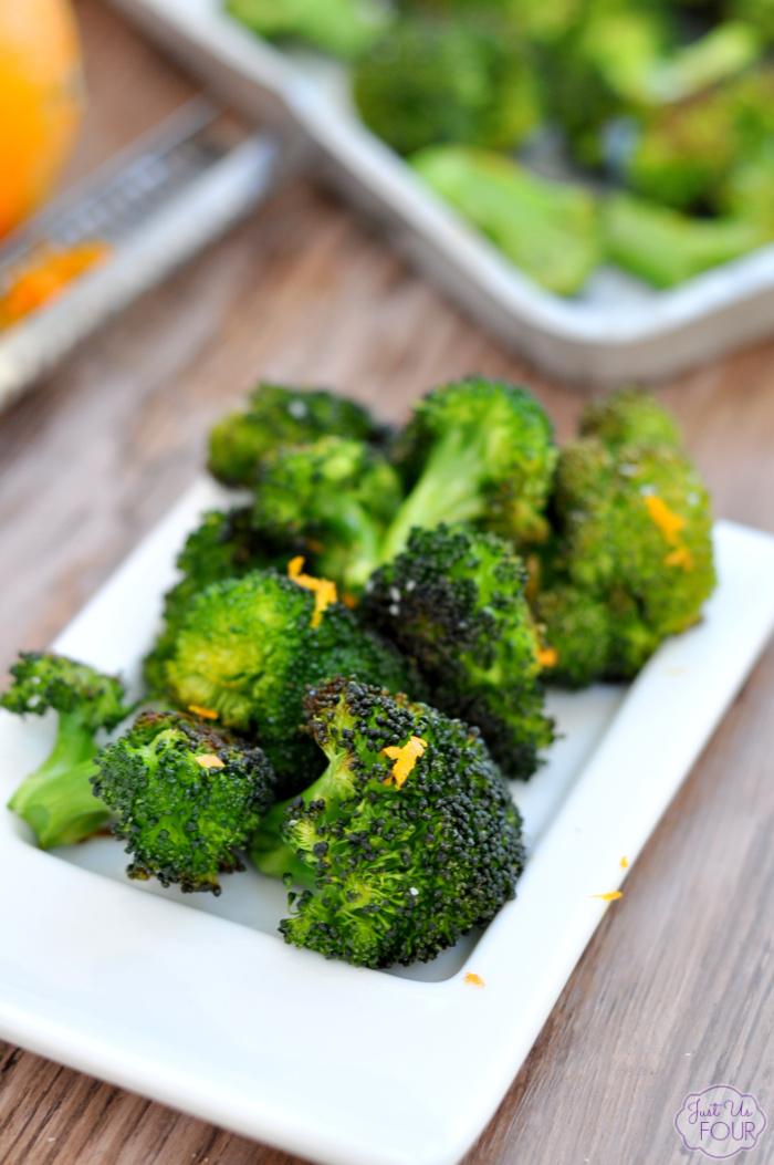 Easy Roasted Broccoli Recipe