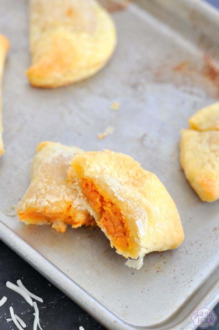 Mini Chicken Parmesan Pockets