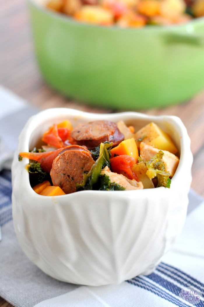 Paleo Chicken Chorizo Stew