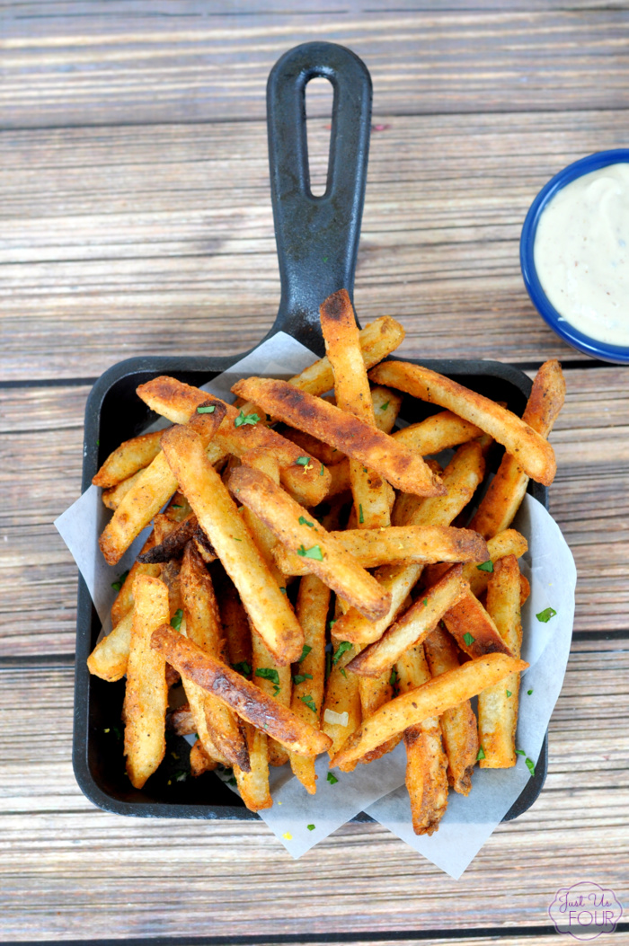 Perfect Football Food - Crab Fries