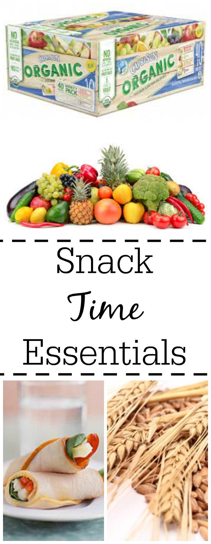 Kid Snack Time Essentials