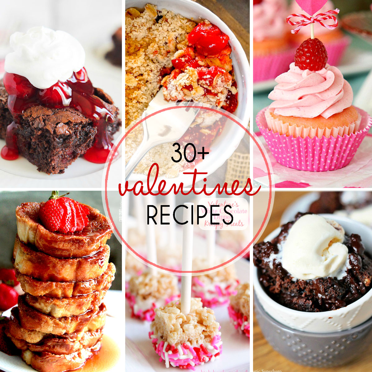 With these 30+ Valentine's Day desserts, you will have a difficult time trying to decide which one to make.