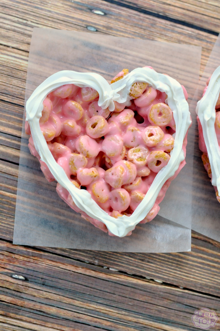 Strawberry Cereal Hearts