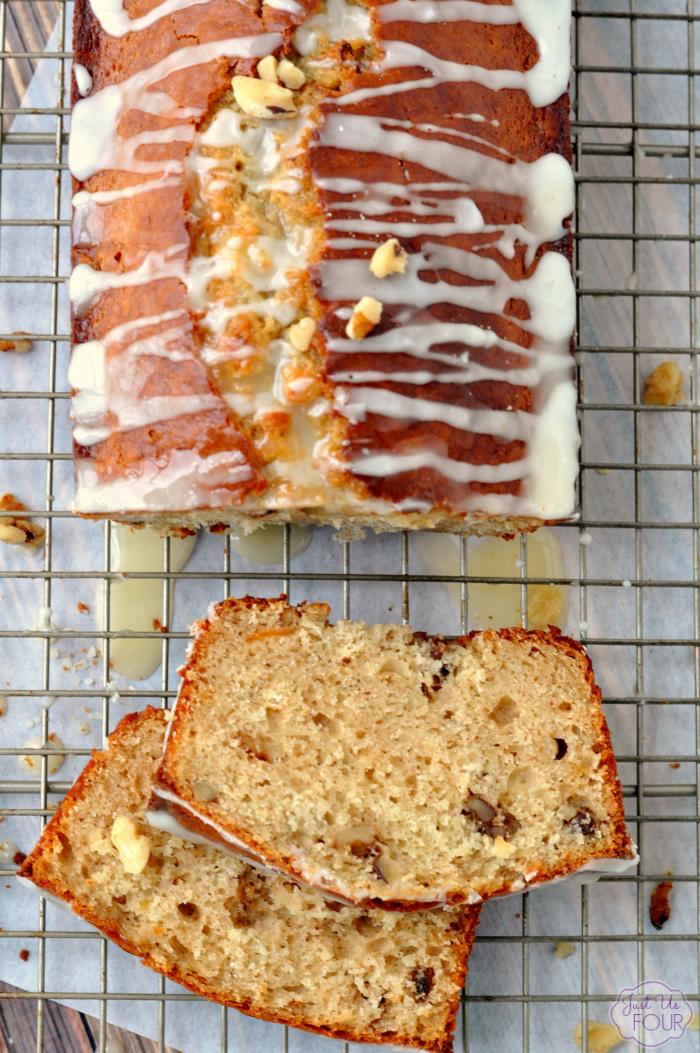 Green Tea Walnut Quick Bread