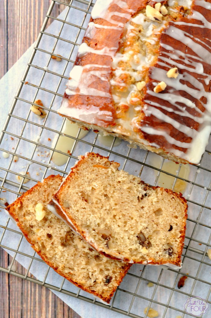 Green Tea Infused Quick Bread