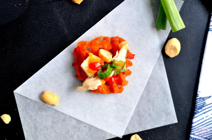 Thai Sweet Potato Nachos