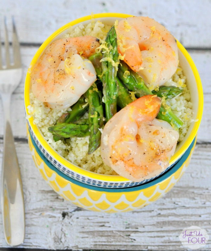 04 - Just Us Four - Paleo Lemon Shrimp Stir Fry