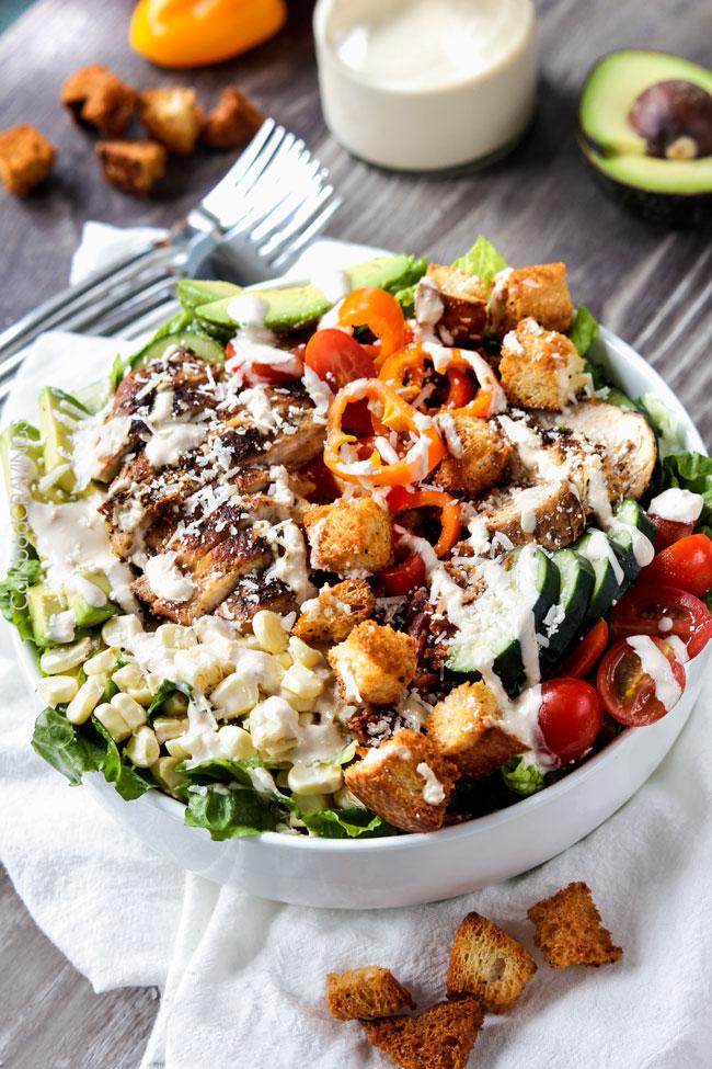 05 - Carlsbad Cravings - Caesar Salad with Lemon Basil Chicken