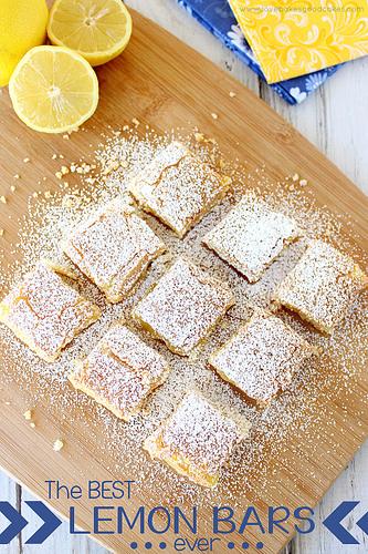 07 - Love Bakes Good Cakes - Best Ever Lemon Bars