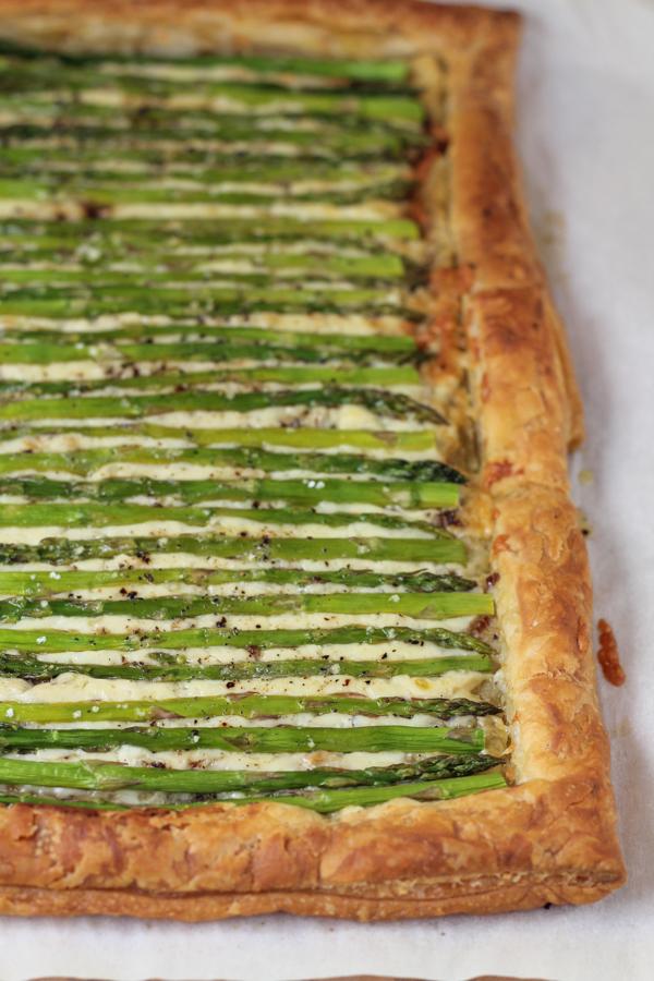 08 - Hip Foodie Mom - Asparagus Gruyere Tart